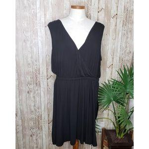 Caslon | Black V-Neck Sleeveless Dress Sz XL